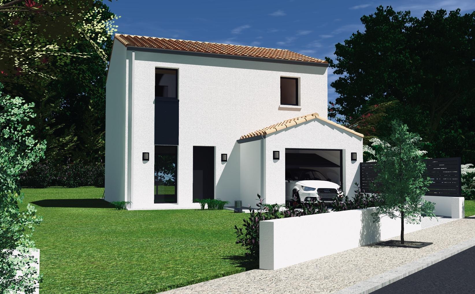 maison + terrain à BOUGUENAIS